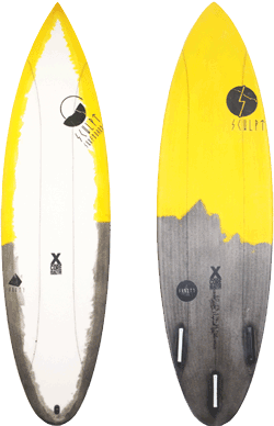 Sculpt Surfboards Shorty Board