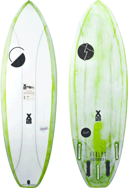 Sculpt Surfboards Throwback Board