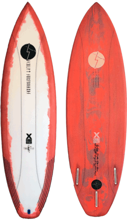 Sculpt Surfboards Two Step Board